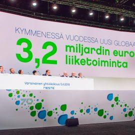 Neste, yhtiökokous 2018